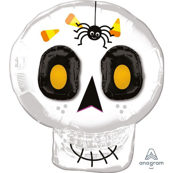 3D Cute Halloween Skull Multi Balloon